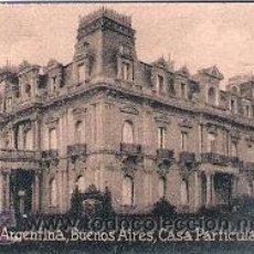 Cartes Postales: POSTAL ORIGINAL DECADA DE LOS 30. ARGENTINA, BUENOS AIRES. Nº 2014. VER TAMAÑO Y EXPLICACION. Lote 31587311