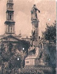 POSTAL ORIGINAL DECADA DE LOS 30. BOLIVIA, LA PAZ. Nº 2092. VER TAMAÑO Y EXPLICACION (Postales - Postales Extranjero - América)