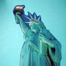 Postales: POSTAL ESTATUA DE LA LIBERTAD. ESTADOS UNIDOS. NUEVA YORK. 21CM DE LARGO. NEW YOK. Lote 31596829
