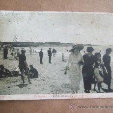 Postales: MONTEVIDEO PLAYA POCITOS, BAÑOS MIXTOS. A 2061 CIRCA 1915 - URUGUAY. Lote 31597350