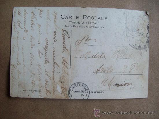 Postales: MONTEVIDEO PLAYA POCITOS, BAÑOS MIXTOS. A 2061 CIRCA 1915 - URUGUAY - Foto 2 - 31597350