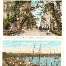Postales: POSTALES COLOREADAS DE PANAMA AÑOS 30. Lote 31619557