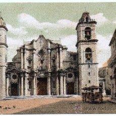 Postales: CUBA, SANTIAGO DE CUBA, 1904, LA CATEDRAL,. Lote 31779939