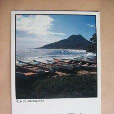 Postales: ISLA DE MARGARITA, VENEZUELA THE ADVENTURE. Lote 32435239