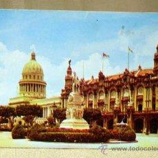 Postales: POSTAL, TARJETA POSTAL, ESTATUA DEL APOSTOL JOSE MARTI, HABANA, CUBA. Lote 33326327