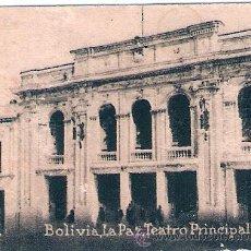 Postales: POSTAL ORIGINAL DECADA DE LOS 30. LA PAZ, BOLIVIA. Nº 2094. VER TAMAÑO Y EXPLICACION. Lote 33551672