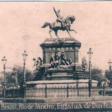 Postales: POSTAL ORIGINAL DECADA DE LOS 30. BRASIL. Nº 1912. VER TAMAÑO Y EXPLICACION. Lote 33632925