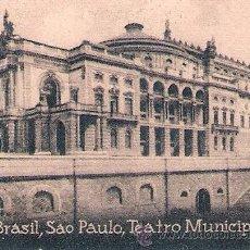 Postales: POSTAL ORIGINAL DECADA DE LOS 30. BRASIL. Nº 1934. VER TAMAÑO Y EXPLICACION. Lote 33634112