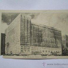 Postales: NEW BISMARCK HOTEL, CHICAGO 3. Lote 33692426