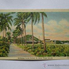 Postales: BETHLEHEM SUGAR FACTORY ST. CROIX VIRGIN ISLAND 1945. Lote 33712420