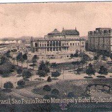 Postales: POSTAL ORIGINAL DECADA DE LOS 30. BRASIL Nº 1930. VER TAMAÑO Y EXPLICACION.. Lote 34045999
