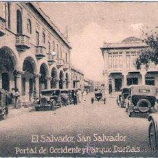 Postales: POSTAL ORIGINAL DECADA DE LOS 30. EL SALVADOR. Nº 1679. VER TAMAÑO Y EXPLICACION.. Lote 34052317