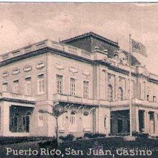 Postales: POSTAL ORIGINAL DECADA DE LOS 30. PUERTO RICO. Nº 1557. VER TAMAÑO Y EXPLICACION.. Lote 57413995