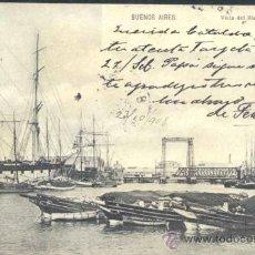 Postales: BUENOS AIRES (ARGENTINA).- VISTA DEL RIACHUELO. Lote 34736096
