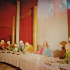 Postales: POSTAL- POSTCARD. THE LAST SUPPER CAPTURED IN TIME INSIDE THE BEAUTIFUL WORLD OF RELIGION. PETLEY. Lote 35396486