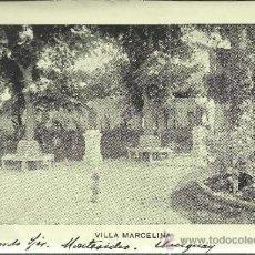 Postales: URUGUAY VILLA MARCELINA MONTEVIDEO TARJETA POSTAL PARTICULAR. Lote 35816138