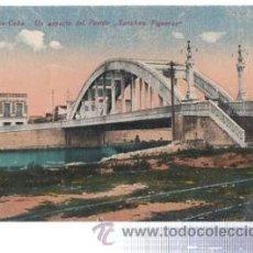 Cartes Postales: TARJETA POSTAL MATANZAS CUBA, UN ASPECTO DEL PUENTE SANCHEZ FIGUERAS. Lote 35873898