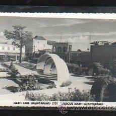 Postales: TARJETA POSTAL FOTOGRAFICA DE GUANTANAMO - PARQUE MARTI.. Lote 36085285