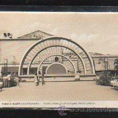 Postales: TARJETA POSTAL FOTOGRAFICA DE GUANTANAMO - PARQUE MARTI.. Lote 36085295