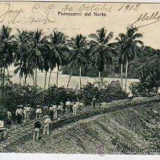 Postales: COSTA RICA. FERROCARRIL DEL NORTE. TREN. ANTONIO LEBMANN. LIBRERIA SAN JOSE Nº 32. Lote 36211915