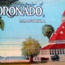 Postales: COLECCIÓN EN ACORDEON DE LA PRETIGIOSA COMPAÑIA WESTERN PUBLISHING & NOVELTY CO. CORONADO. Lote 36582312