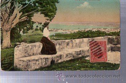TARJETA POSTAL MATANZAS, CUBA, VISTAS DESDE LA ERMITA (Postales - Postales Extranjero - América)