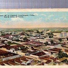 Postales: TARJETA POSTAL CIENFUEGOS, VISTA PARCIAL DE LA CIUDAD Y BAHÍA. Lote 36608663