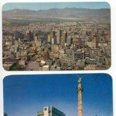 Postales: LOTE 8 POSTALES CIUDAD DE MÉXICO, AÑOS 60. UNIVERSIDAD, HOSPITAL, FERROCARRIL INFANTIL CHAPULTEPEC. Lote 37079567