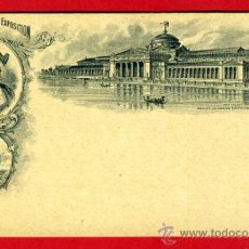Postales: TARJETA POSTAL, WORLDS COLUMBIAN EXPOSITION , USA, CHICAGO 1893 , ORIGINAL , A38. Lote 37462750