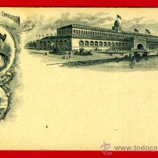 Postales: TARJETA POSTAL, WORLDS COLUMBIAN EXPOSITION , USA, CHICAGO 1893 , ORIGINAL , A39. Lote 37462765