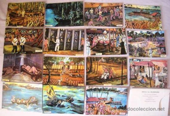 ISLA DEL DIABLO ( PRESIDIO ). GUAYANA FRANCESA. COLECCION 15 POSTALES. ENVIO CERTIFICADO GRATIS¡¡¡ (Postales - Postales Extranjero - América)