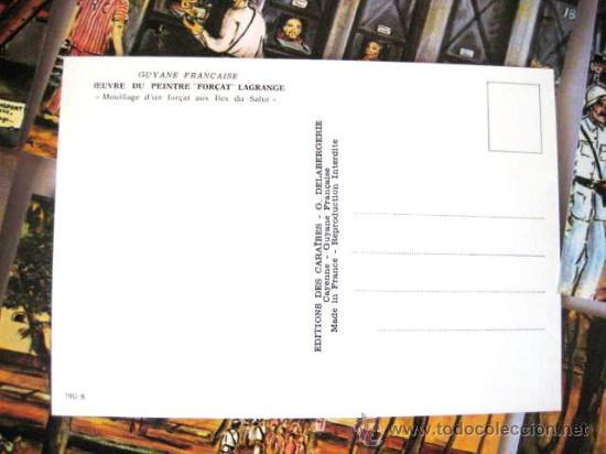 Postales: ISLA DEL DIABLO ( presidio ). GUAYANA FRANCESA. COLECCION 15 POSTALES. ENVIO CERTIFICADO GRATIS¡¡¡ - Foto 8 - 37953740