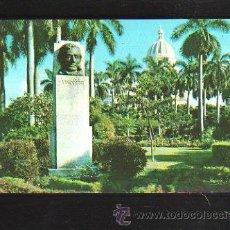 Postales: TARJETA POSTAL DE LA HABANA. CUBA - BUSTO A LINCILN EN LA PLAZA DE LA FRATERNIDAD.. Lote 39054669