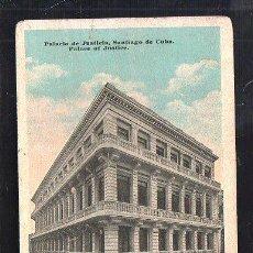 Postales: TARJETA POSTAL DE SANTIAGO DE CUBA - PALACIO DE JUSTICIA. EDICION RENACIMIENTO Nº 31. Lote 39185166