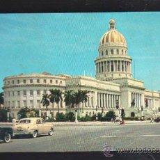 Postales: TARJETA POSTAL DE HABANA, CUBA - CAPITOLIO NACIONAL. RTC-13. Lote 39185337
