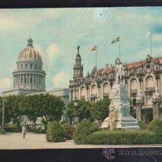Postales: TARJETA POSTAL DE HABANA, CUBA - PARQUE CENTRAL. RTC-36.. Lote 39185354