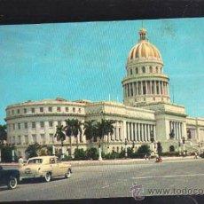 Postales: TARJETA POSTAL DE HABANA, CUBA - CAPITOLIO NACIONAL. RTC-13. Lote 39185363