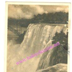 Postales: AMERICAN FALLS FROM GOAT ISLAND. NIAGARA (EEUU) POSTAL DE 1928. Lote 8591251