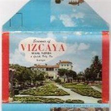 Postales: SOUVENIR OF VIZCAYA MIAMI FLORIDA. Lote 39849692