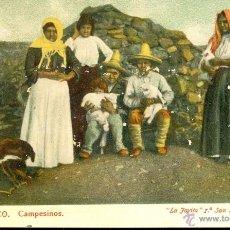 Postales: MEXICO. CAMPESINOS. POSTAL COLOR, SIN CIRCULAR, C. 1905. Lote 40178930