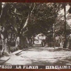 Postales: ANTIGUA FOTO POSTAL DE MEDELLIN (COLOMBIA) PASEO LA PLAYA - SIN CIRCULAR. Lote 38252325