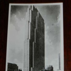 Postales: ANTIGUA FOTO POSTAL, NUEVA YORK, ROCKEFELLER CENTER, SIN CIRCULAR, NEW YORK, ROCKEFELLER CENTER, UNC. Lote 38279944