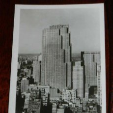 Postales: ANTIGUA FOTO POSTAL, NUEVA YORK, ROCKEFELLER CENTER, SIN CIRCULAR, NEW YORK, ROCKEFELLER CENTER, UNC. Lote 38279945