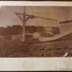 Postales: ANTIGUA FOTOGRAFIA DE CUERNAVACA (MEXICO) HACIENDA DE SAN VICENTE, MORELOS, 1907, MIDE 16 X 13 CMS. . Lote 38284127