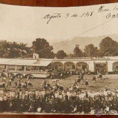 Postales: ANTIGUA FOTOGRAFIA DE CUERNAVACA (MEXICO) HACIENDA DE SAN CARLOS, MORELOS, 1908, MIDE 17 X 12 CMS. E. Lote 38284138