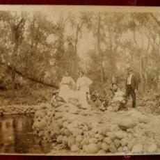 Postales: ANTIGUA FOTOGRAFIA DE CUERNAVACA (MEXICO) HACIENDA DE SAN CARLOS, MORELOS, 1908, MIDE 17 X 12 CMS. E. Lote 38284160