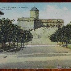 Postales: ANTIGUA POSTAL DE CIENFUEGOS, CASTILLO DE JAGUA, CUBA, ED. LA NUEVA, CIRCULADA.. Lote 38285983