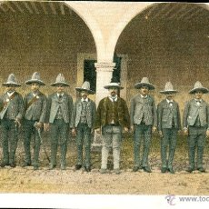 Postales: RURALES (MÉXICO). POSTAL COLOR, SIN CIRCULAR, C 1905.. Lote 40270904