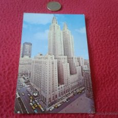 Postales: POSTAL AÑOS 50 60 ?? THE WALDORF ASTORIA HILTON HOTEL NEW YORK PLASTICHROME BY COLOURPICTURE BOSTON. Lote 40422222