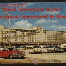 Postales: MIAMI INTERNATIONAL AIRPORT. AEROPUERTO INTERNACIONAL DE MIAMI. USA.. Lote 40925623